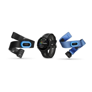 Garmin - Forerunner 735XT Tri bundle black