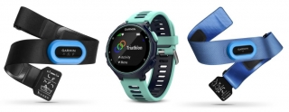 Garmin - Forerunner 735XT Tri bundle blue